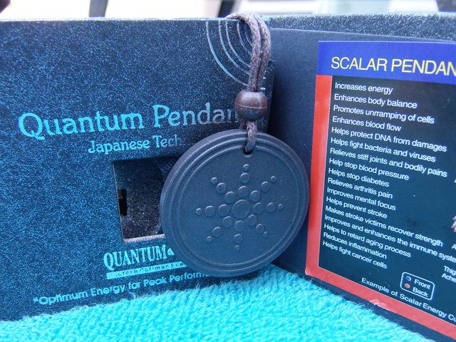 Quantum Scalar Necklace Pain Relief ,Energy,Anti Aging . Starting at $1 on Tophatter.com!