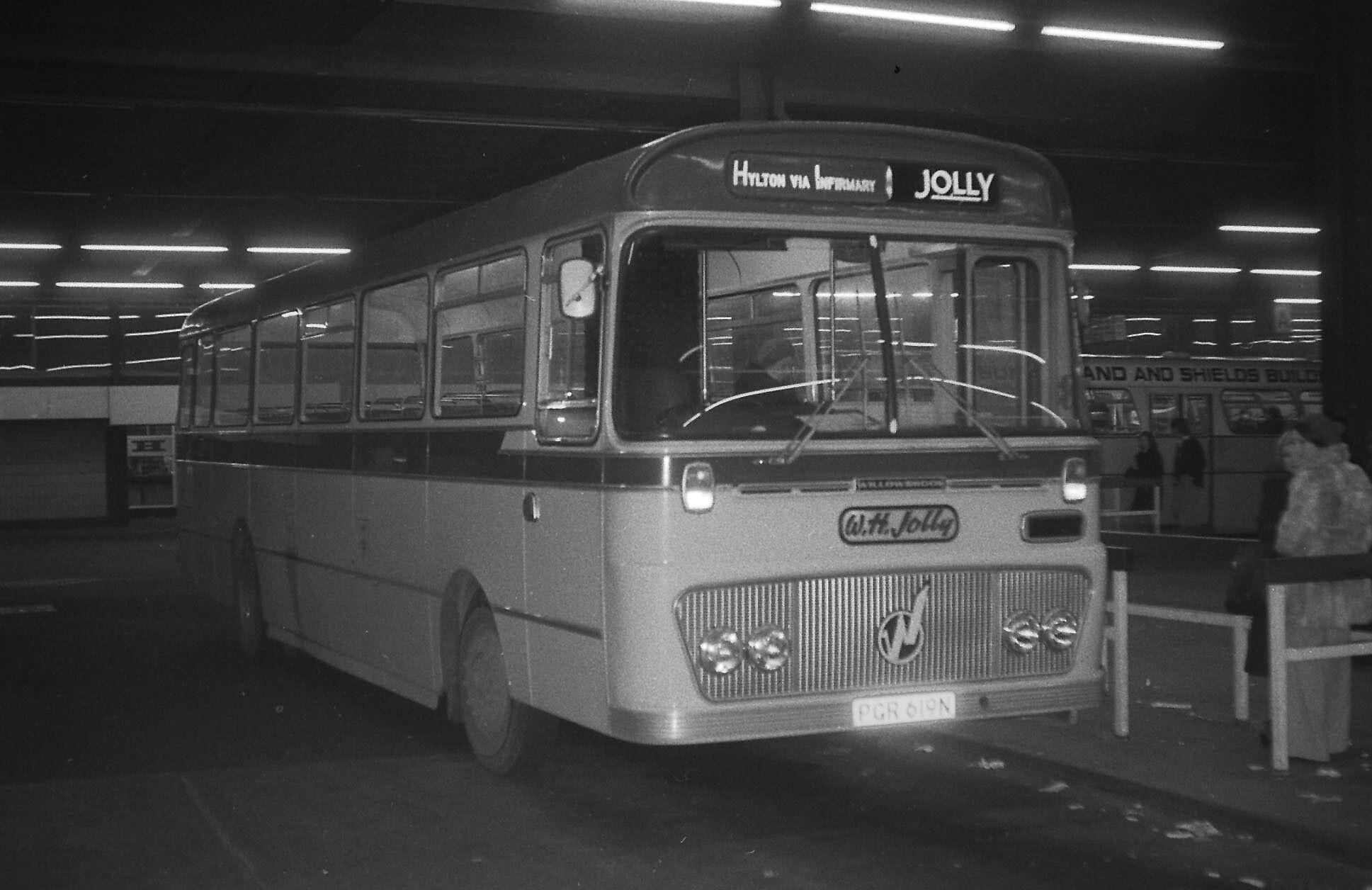 tynexwear jolly south hylton pgr619n central bus sta