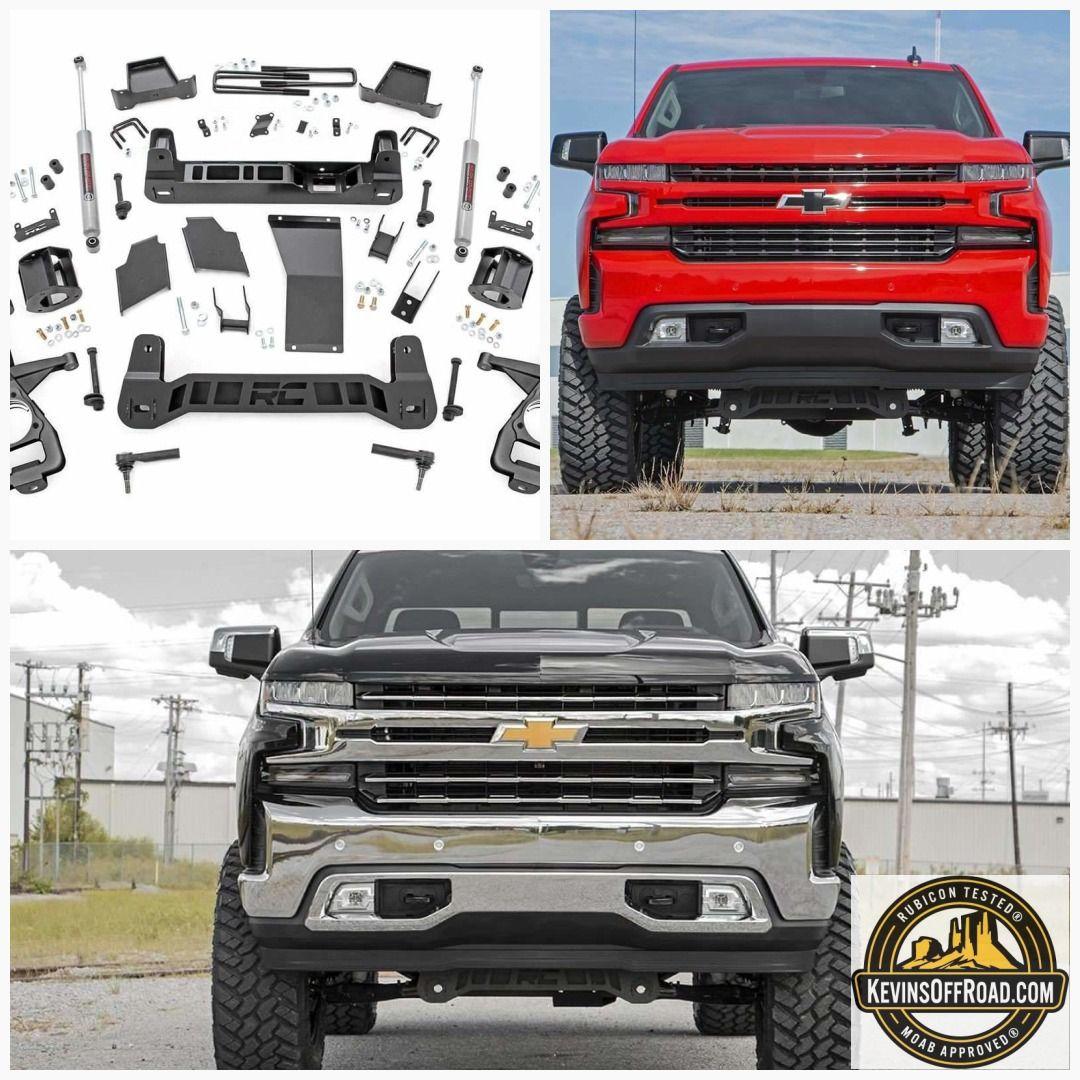 6in Suspension Lift Kit   Strut Spacers for 2019 Chevrolet