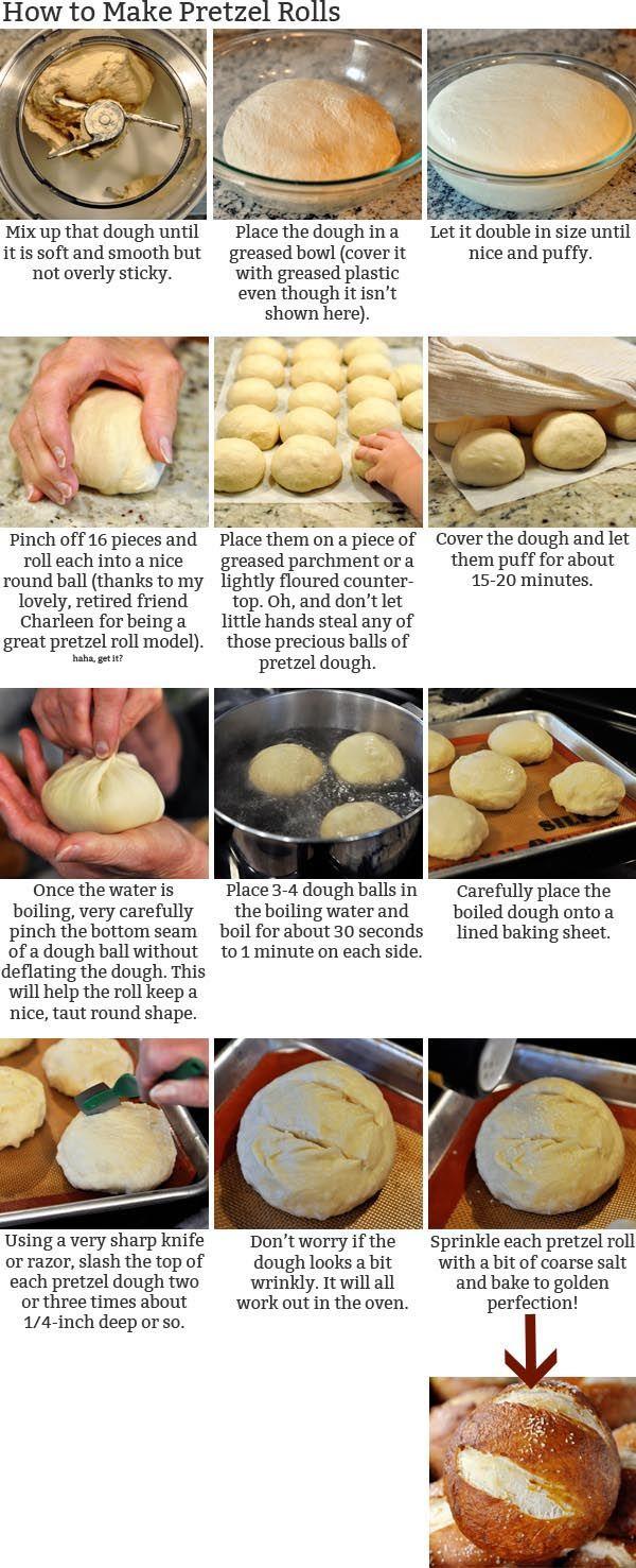 Soft Pretzel Rolls | Recipe | Pretzel, Cafes and Rolls