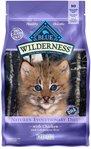 Cat Food High Protein Blue Wilderness Kitten Grain Free Chicken Dry Cat Food 5 Lb Read More Reviews Of The P Grain Free Cat Food Dry Cat Food Kitten Food
