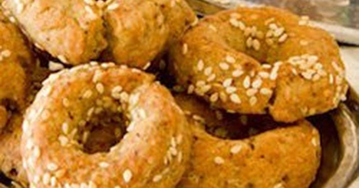 طريقة عمل الكعك بالزعتر بالصور من جمانة عقاد Recipe Food Bread Bagel