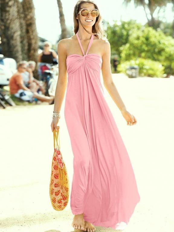 Dluga Maxi Suknia Sukienka Victoria Secret S 36 5290233670 Oficjalne Archiwum Allegro Maxi Dress Fashion Show Dresses Summer Maxi Dress