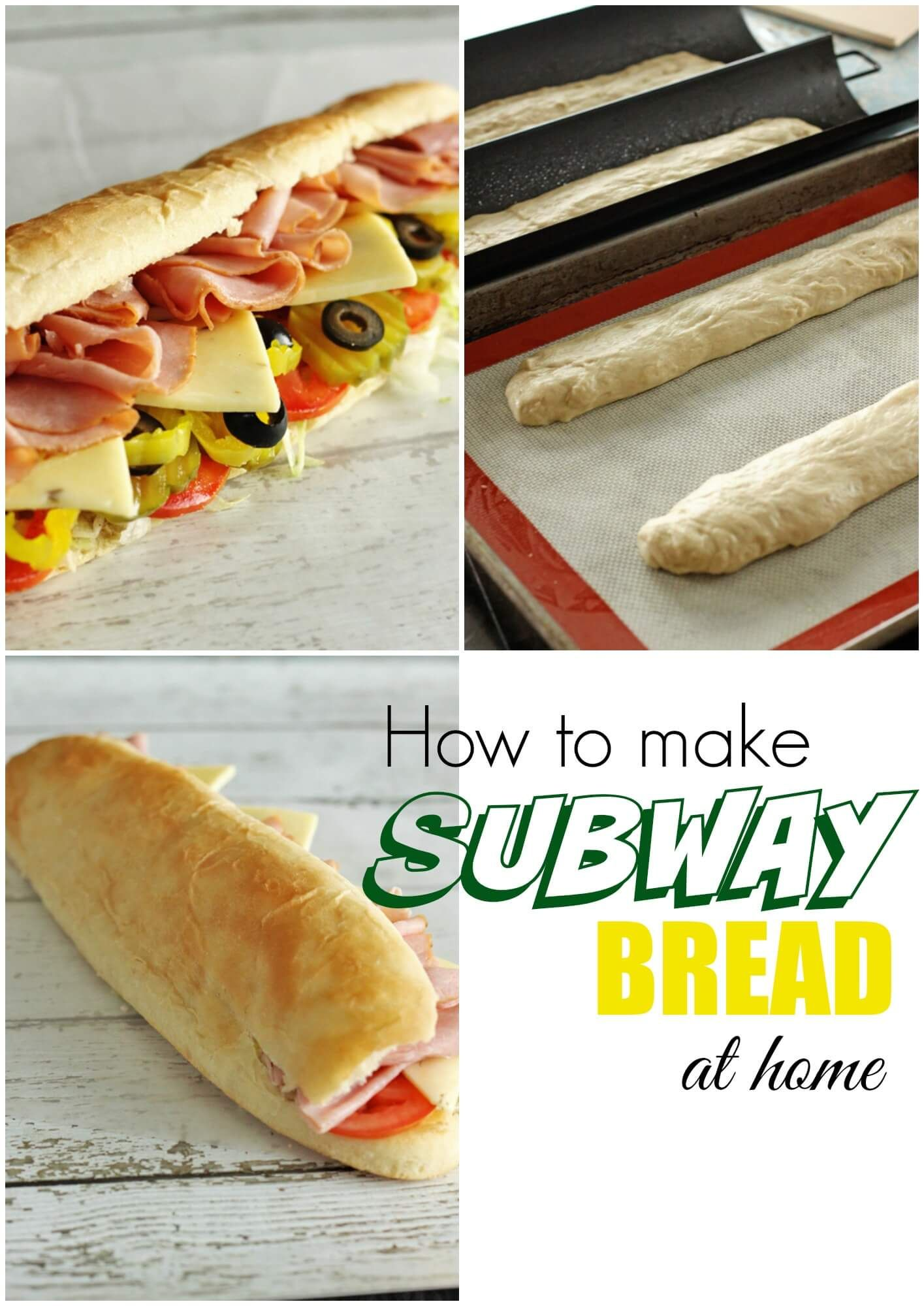 how to make subway bread at home breads pinterest subway bread