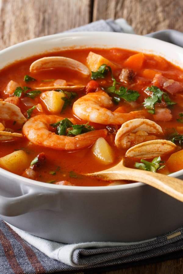 Spanische Fischsuppe #seafoodstew