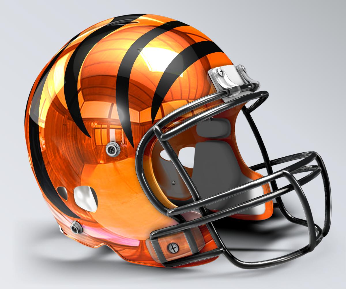 Cincinnati Bengals Concept Helmet 2 Football Helmets Bengals