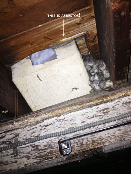 Removing Asbestos In An Old House Rather Square Updating House Asbestos Old House