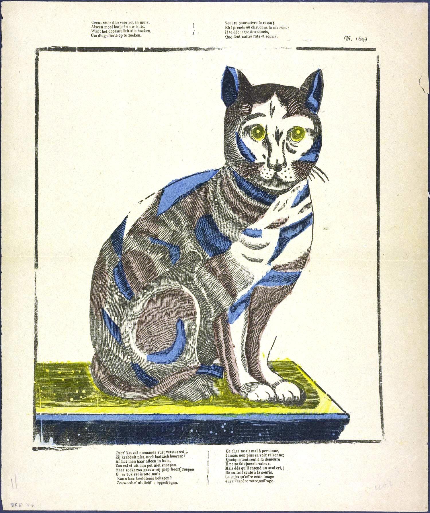 Animal Cat Engraving Jpg 1500 1787 With Images Cat Art Cat
