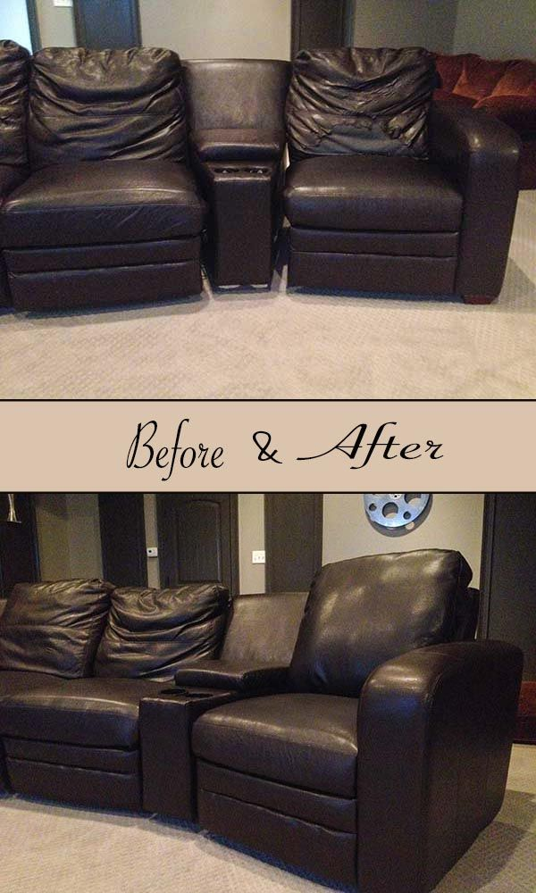 Reupholster Leather Chair Diy Leather Sofa Sofa
