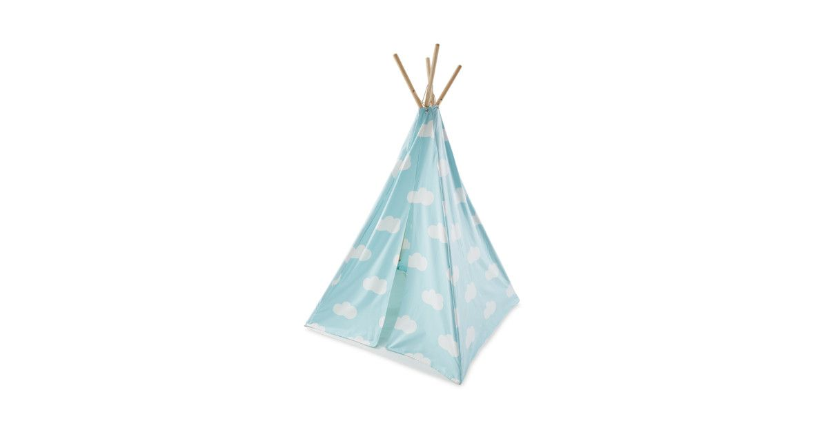 Find Little Town Cloud Children S Teepee At Aldi Childrens Teepee Teepee Clouds