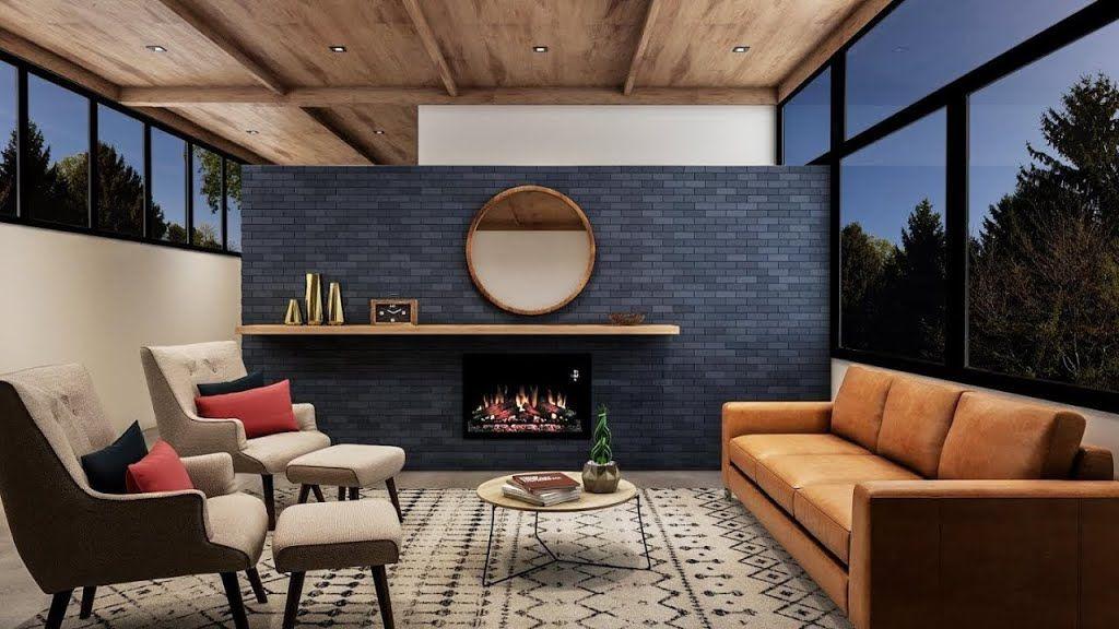 9d3ea28c5378 Retro Blue Living Room – Living Room – The Home Depot