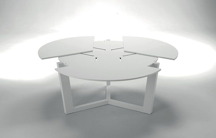 Eclipse Tavolo Rotondo Allungabile.Tavoli Rotondi Allungabili Dal Design Moderno Tavolo Rotondo