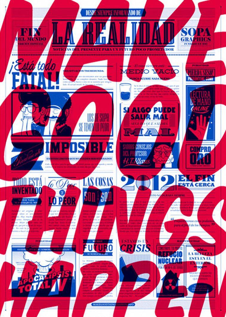 Amazing typography posters to empower your creative genius #3dtypography