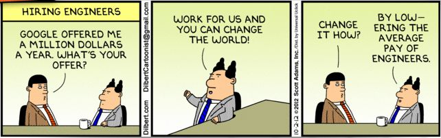 Pin by N D on Jokes | Hr humor, Coding humor, Dilbert comics