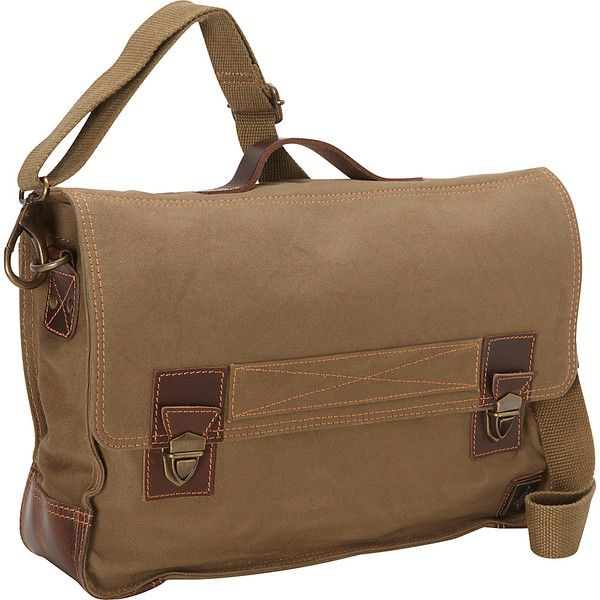 DamnDog Work Bag Me ($88) ❤ liked on Polyvore featuring men's fashion, men's bags, green, messenger bags, mens bags, mens canvas bag, mens courier bag, mens canvas messenger bag and mens messenger bag
