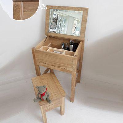 Tocador de estilo japonés de muebles de madera Manchester - muebles en madera modernos
