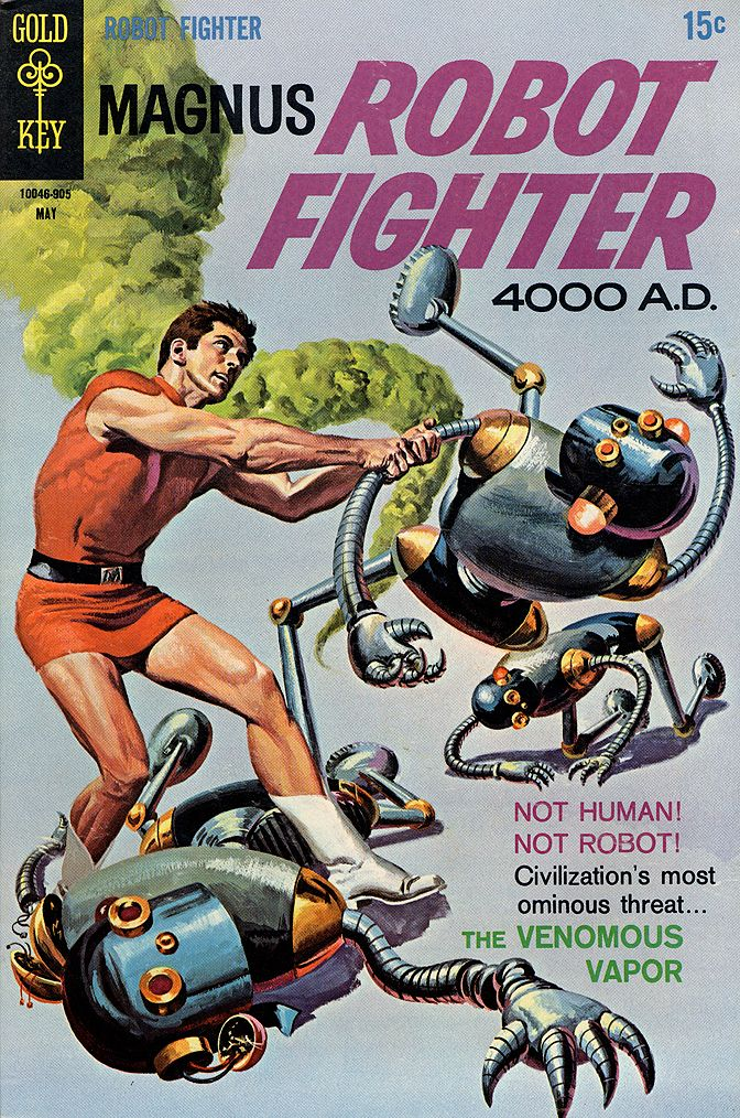 Magnus Robot Fighter 26 May 1969 The Venomous Vapor Art By