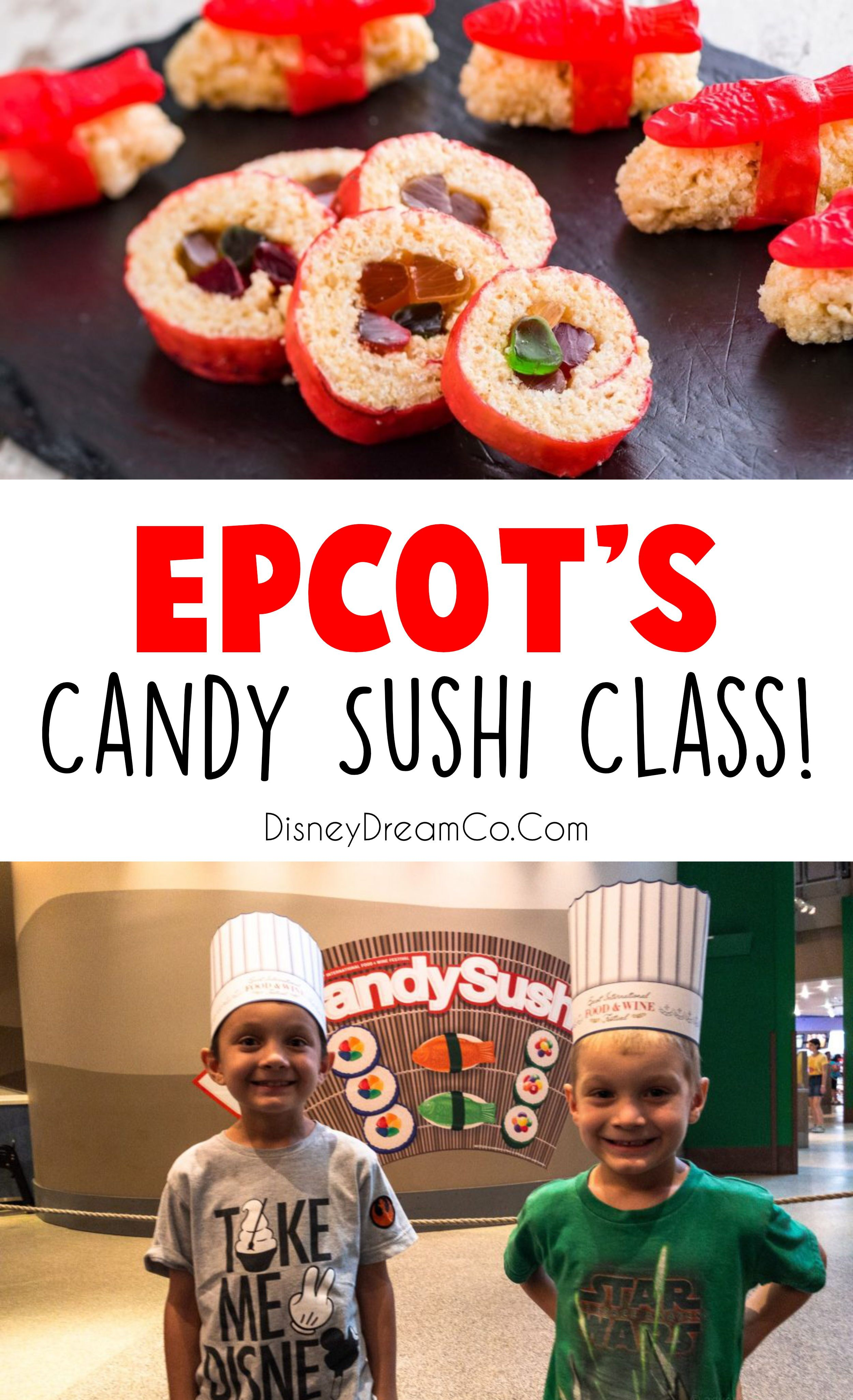Candy Sushi Epcot Food Candy Sushi Dining At Disney World