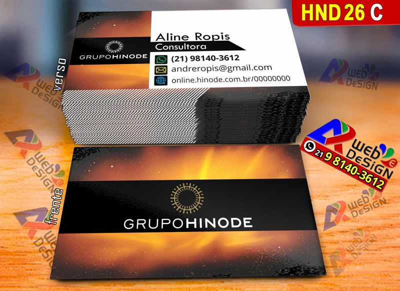 Cartoes De Visita Consultor Grupo Hinode Download Design Com