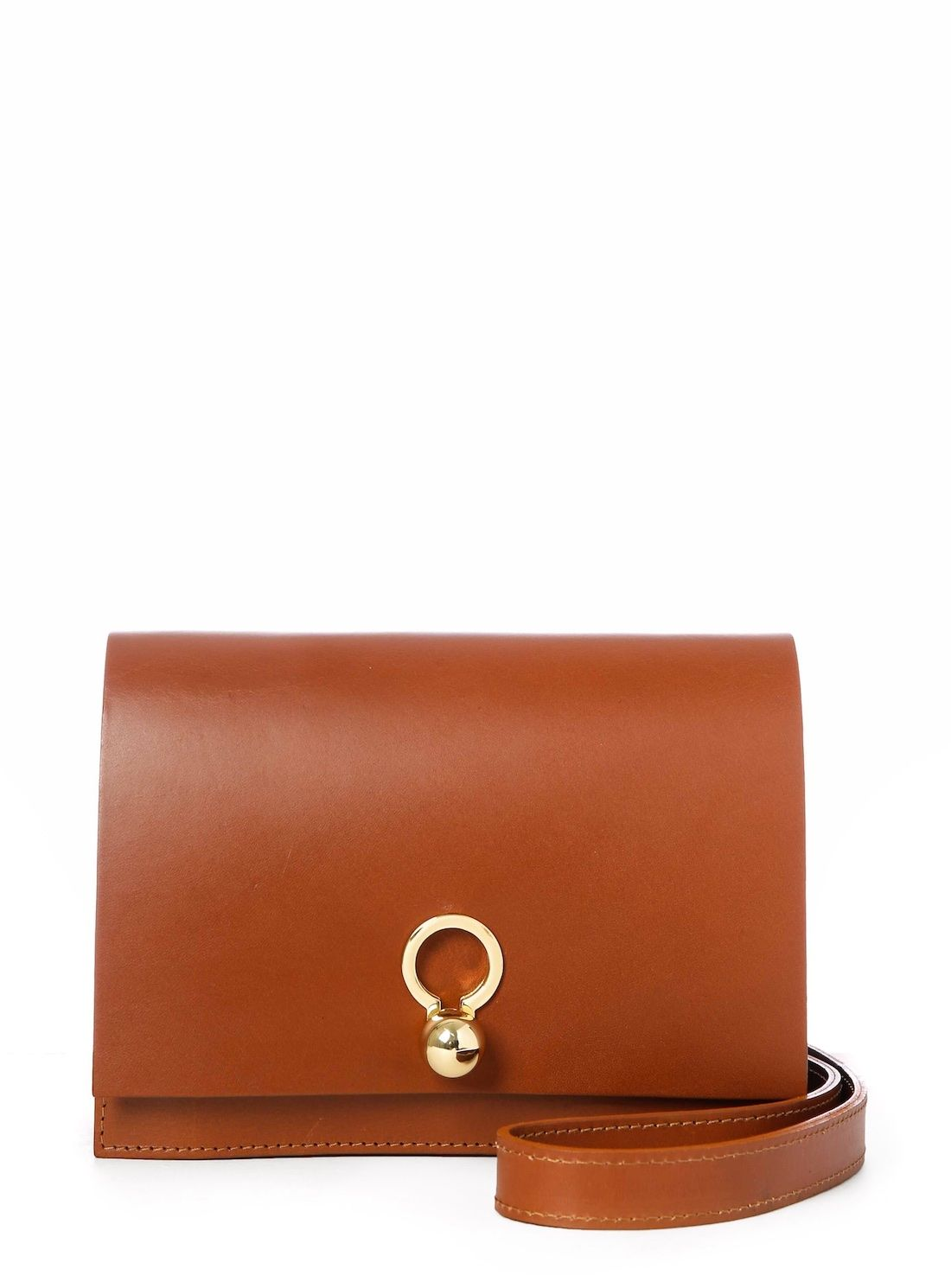 7f7659a76 CHARLIE Box in Tan Leather by Danielle Foster / Bags / Shoulder | Young  British Designers