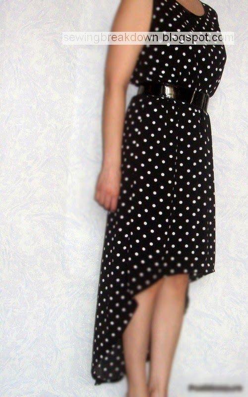 bcdd0baaf طريقة خياطة فستان ستايل بالخطوات - خياطة و تفصيل | خياطة وتفصيل ...