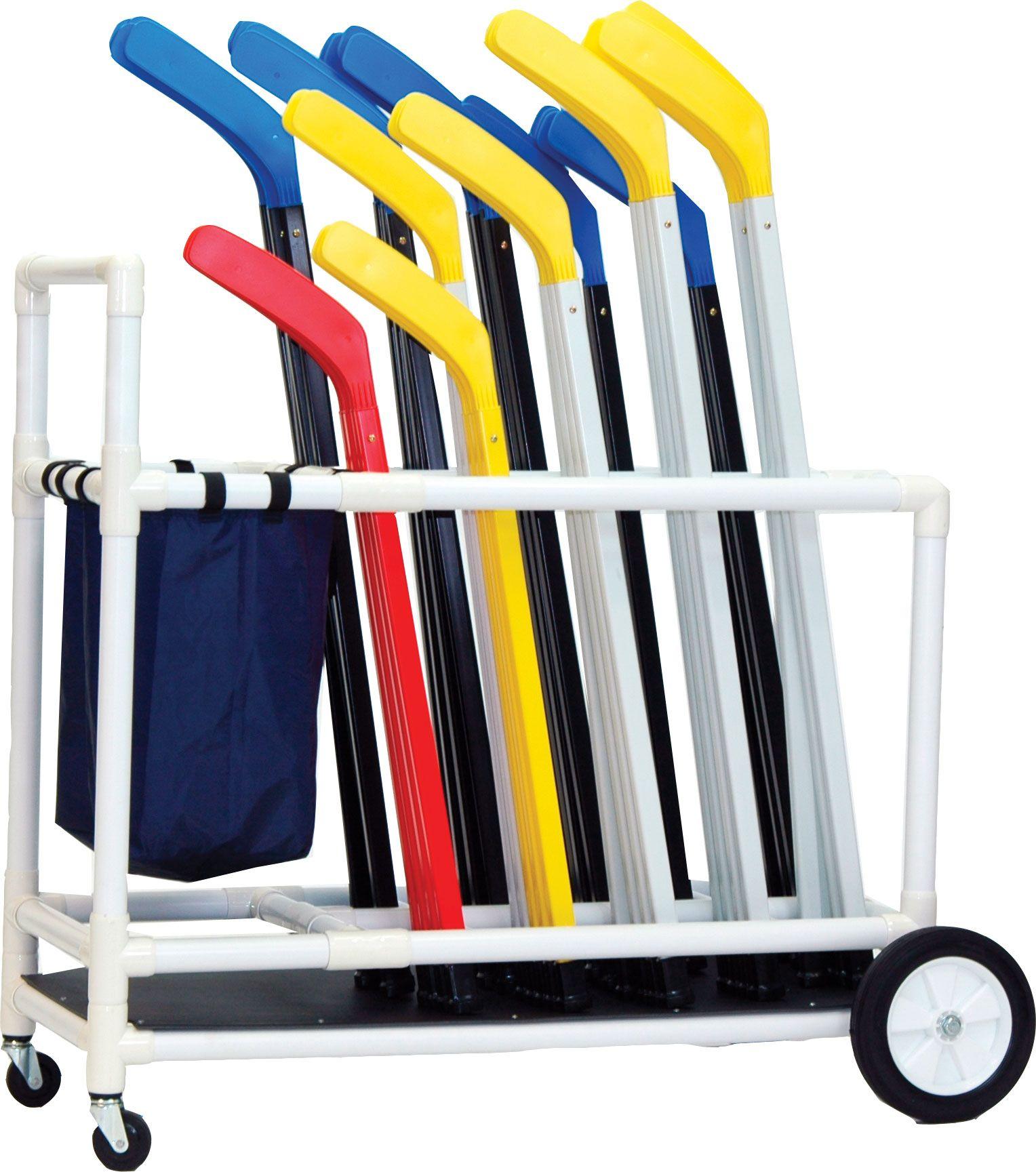 Physical Education Hockey Hockey Cart (con imágenes