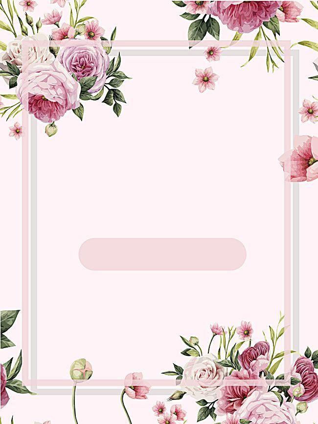 Frame Floral Fotografia Flor Background   Flower frame