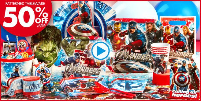 Avengers Party Supplies - Avengers Birthday - Party City | Lego ...