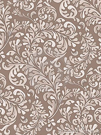 Seamless Vintage Wallpaper Pattern Royalty Free Stock Images .