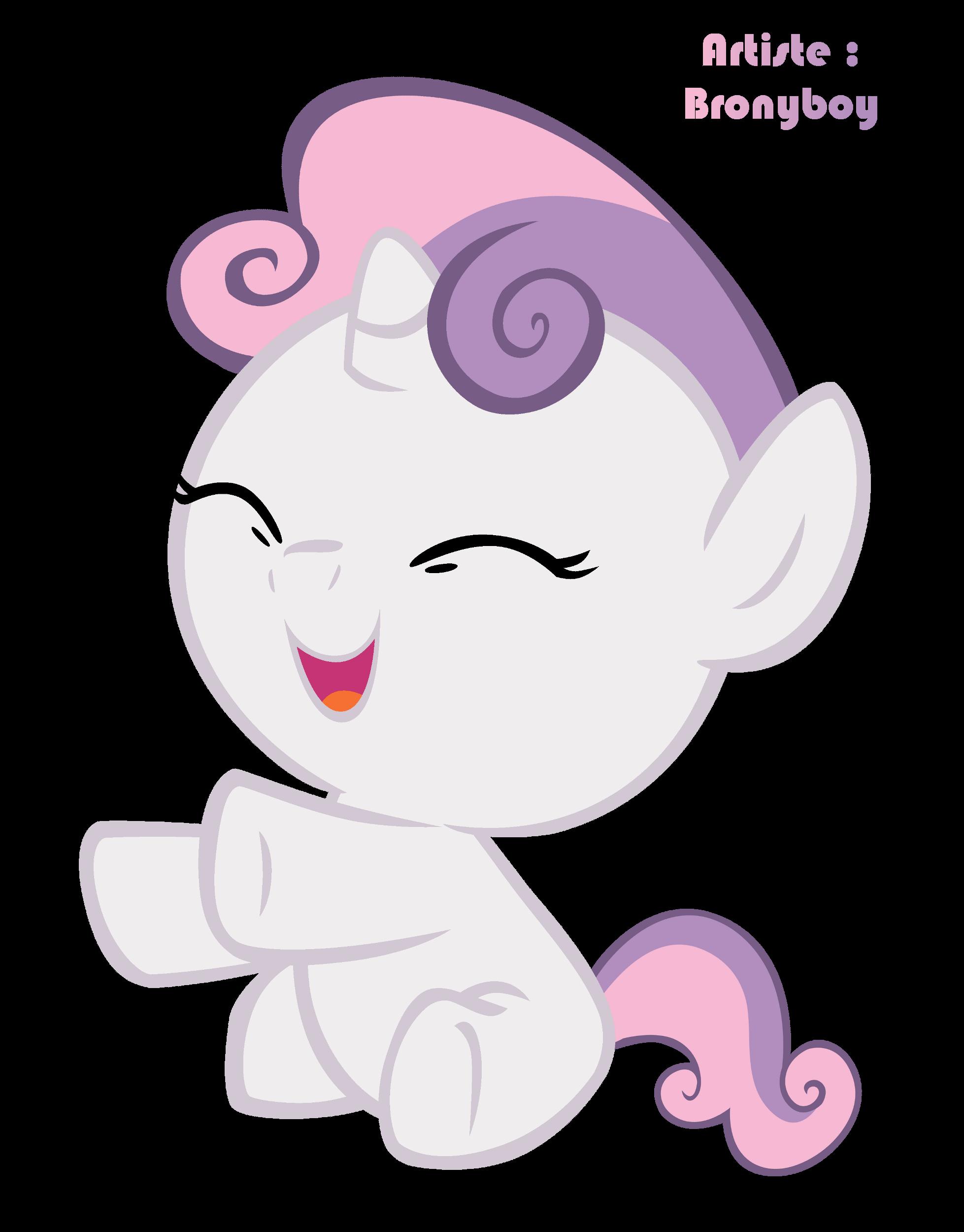 Render my little pony renders sweetie bewwe my little pony mon petit poney cheval rose licorne - My little pony dessin anime ...