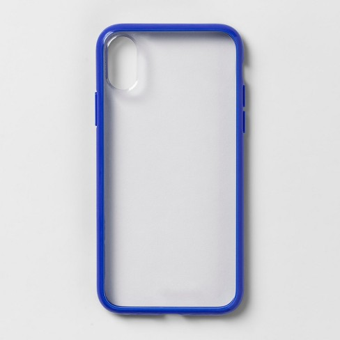 Heyday Apple Iphone X Xs Clear Case With Bumper Frame Target Apple Iphone Clear Cases Iphone