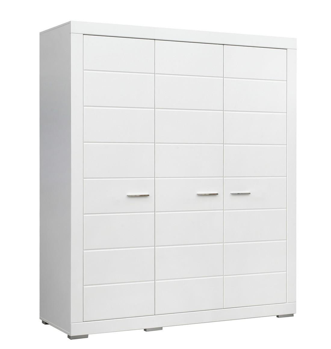 Kleiderschrank Steffi II in der Farbe weiß - zeitlos und unendlich kombinierbar passend zur Jugendzimmerserie Steffi 1 Kleiderschrank mit 3 Türen 6 Ablageflächen 1... #kinder #jugendzimmer #kleiderschrank