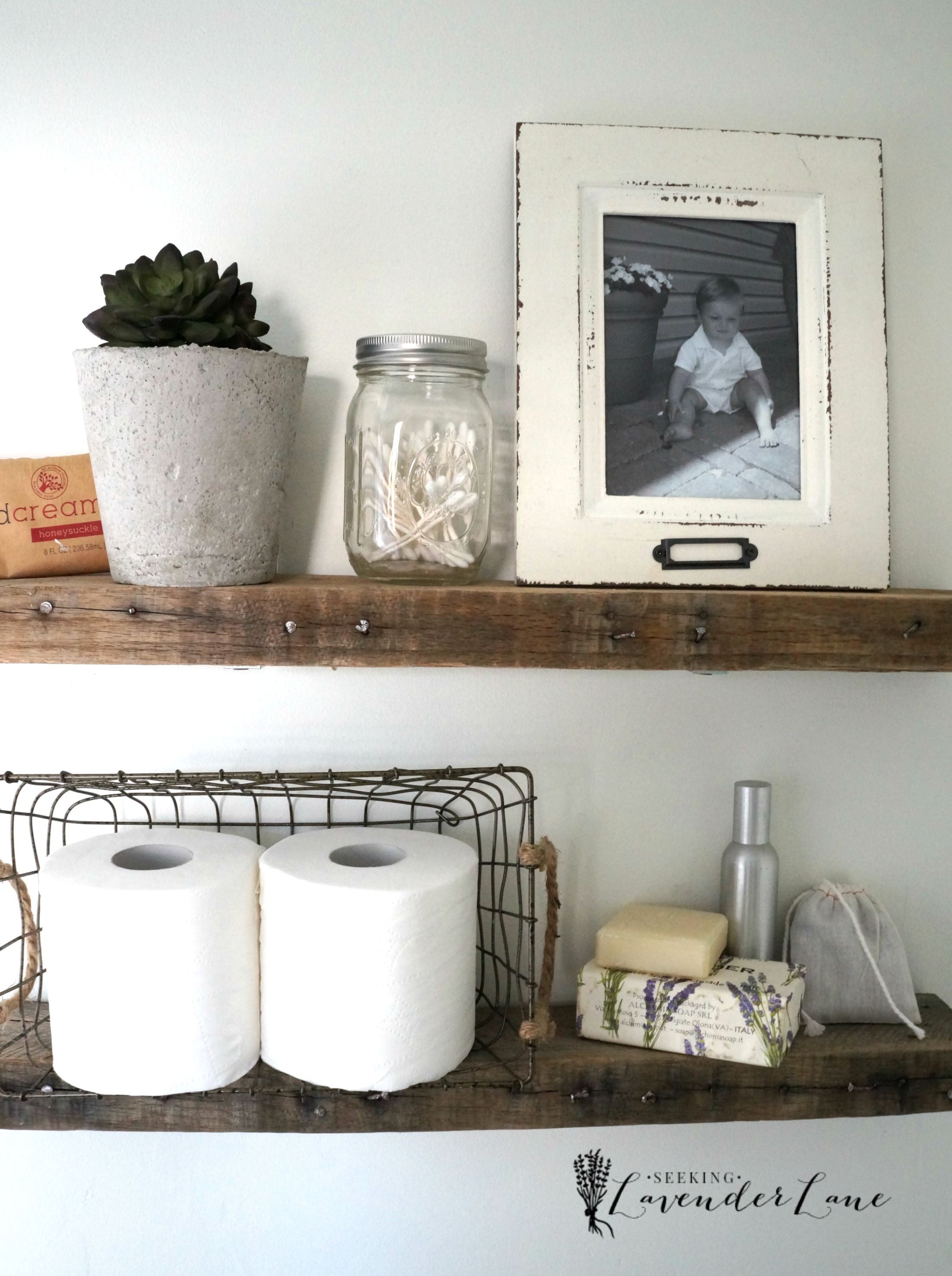 An organized bathroom vanity is the key to a less stressful morning ...