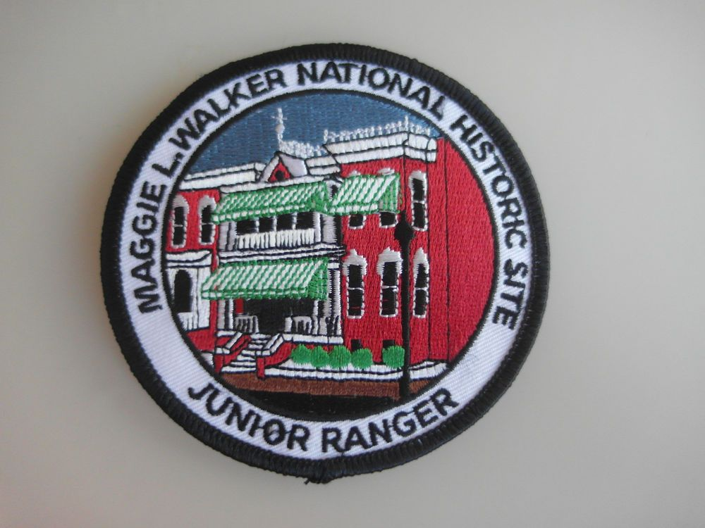 Patch Junior Ranger Maggie L.Walker National Historic Site