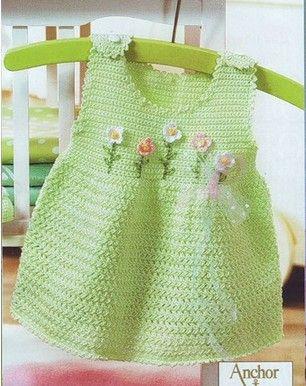 Vestidos tejidos a crochet para el verano
