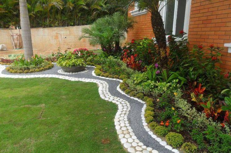30 imágenes de jardines frontales tan bellos que quitan el hipo ...