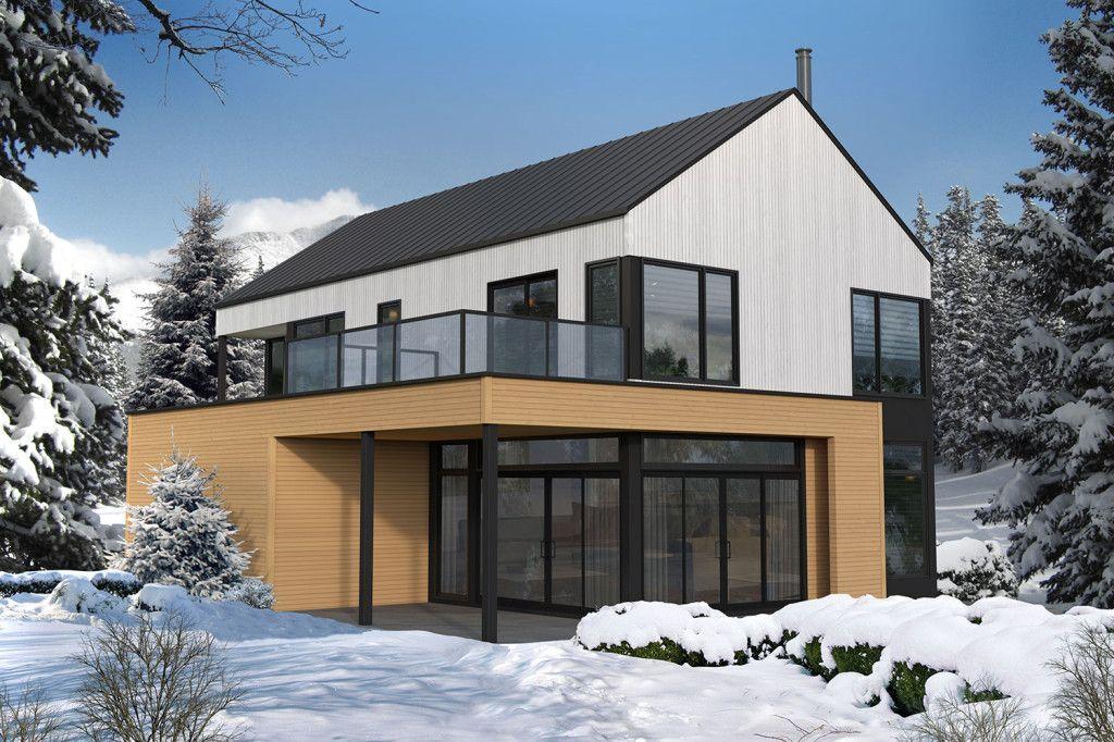 Refuges et chalets scandinaves Bâtiments Préfab Maison