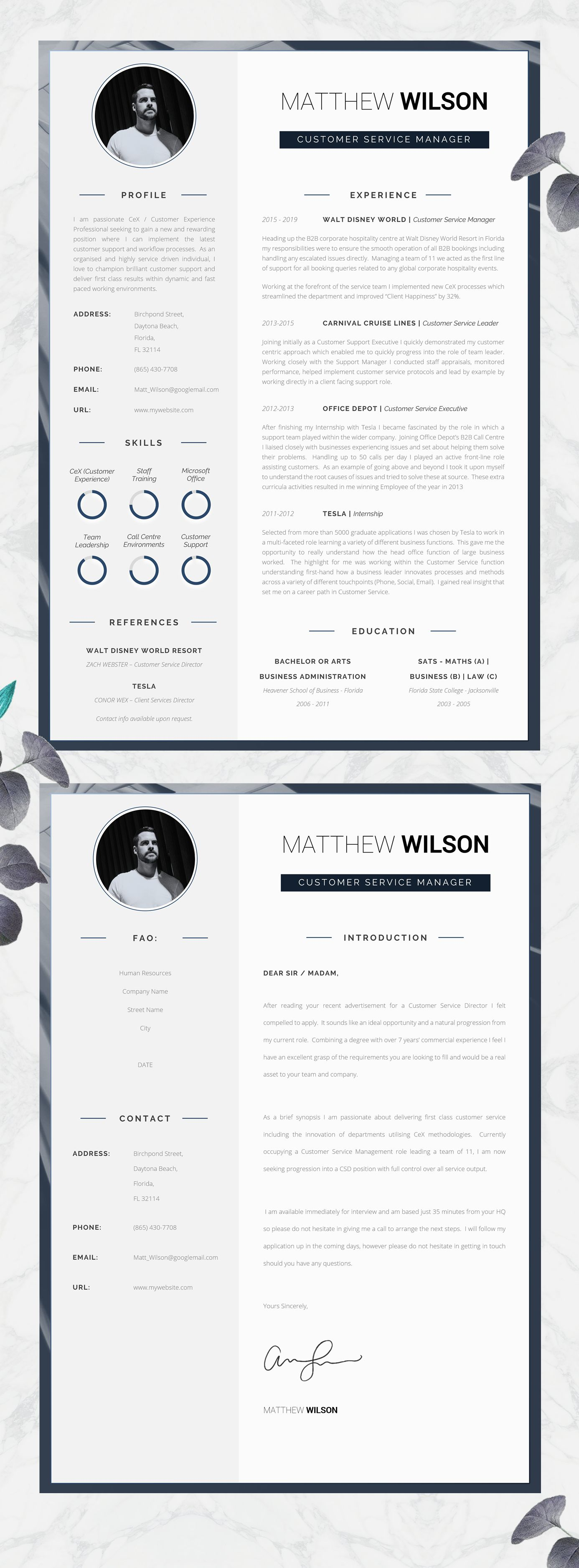 Professional Resume For Word Cover Letter Resume Advice Instant Download Mac Or Pc Cv Template Searle The Career Improvement Club Resume Design Professional Resume Advice Resume Design Template