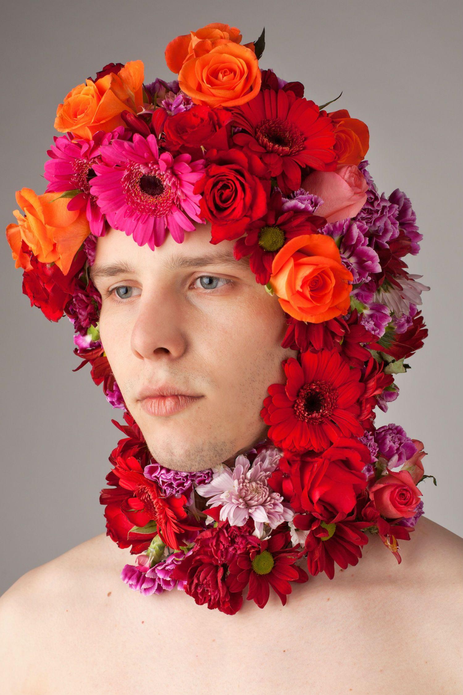 Boys flowers photography by aleksandra kingo blossom