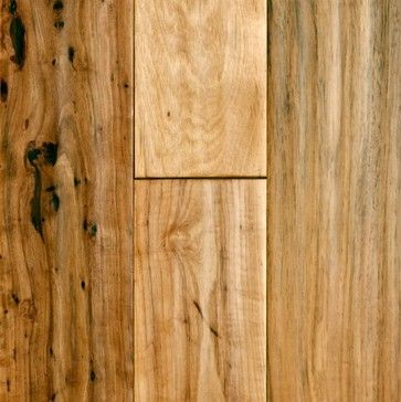 Hickory Floors In Lobby Virginia Mill Works 3 4 X 5 Hickory Handscraped Contemporary Wood Flooring Hickory Wood Floors Flooring Solid Hardwood Floors