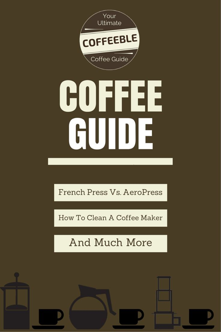 How to store coffee beans so they don't get stale? How to clean a coffee maker the right way? How to use a French Press? Questions over questions!  Get the answer here!: