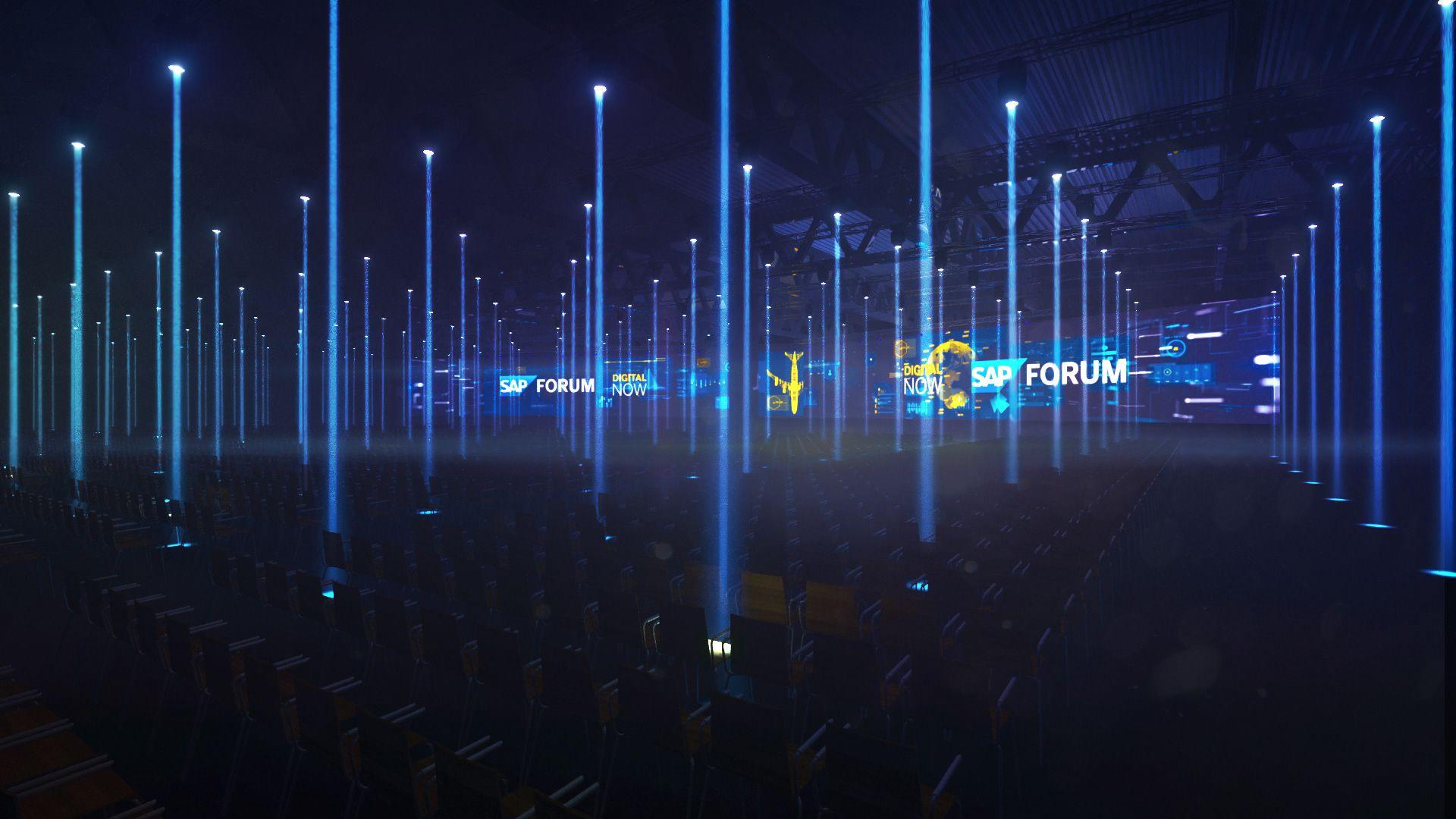 SAP Forum 2017 on Behance | event