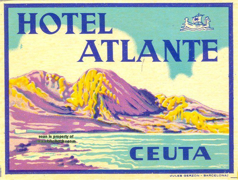 Aletti Hotel Casino Municipal Alger Vintage Travel Posters
