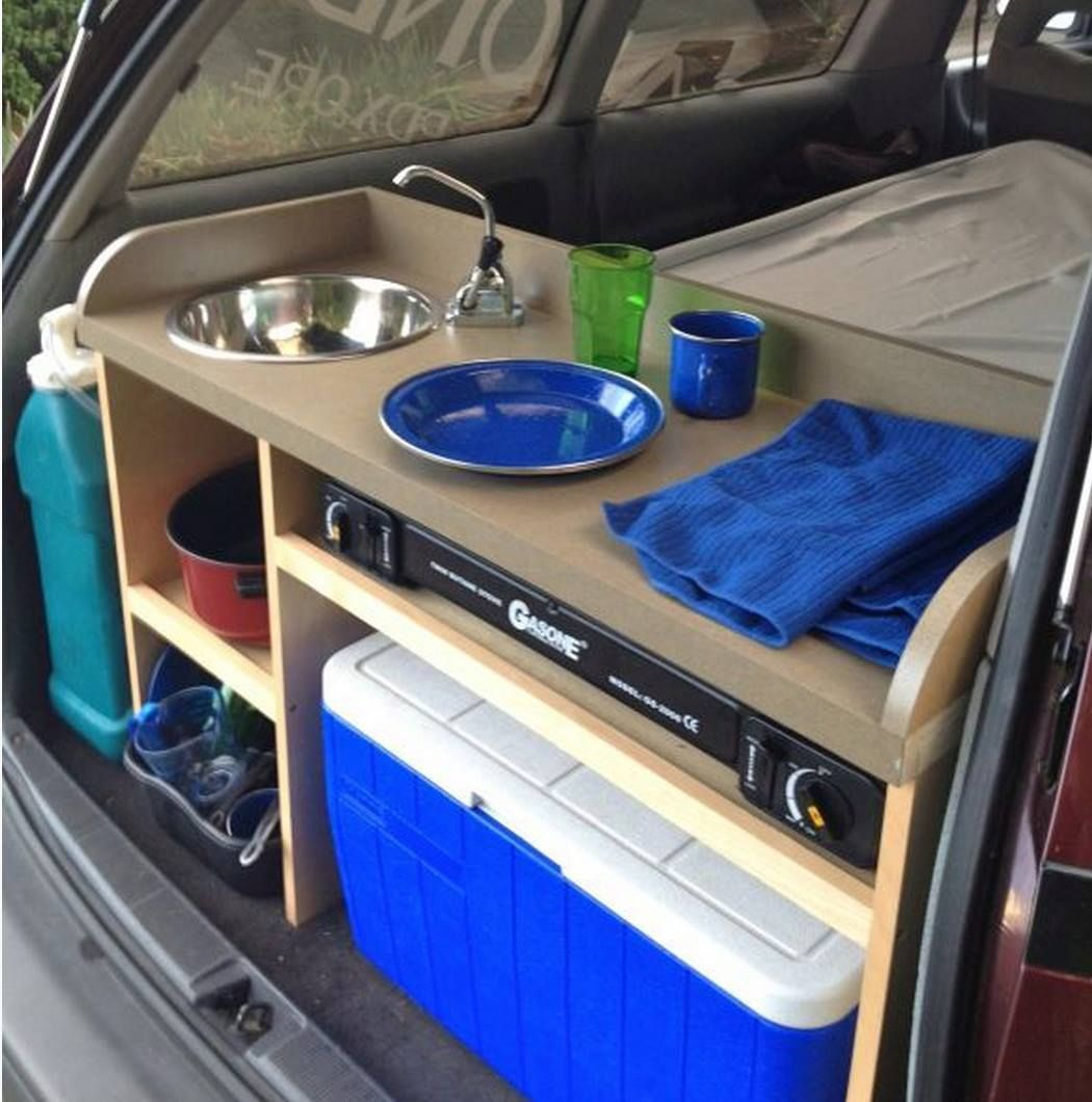 Awesome camping or road trip idea via Discount Tire.