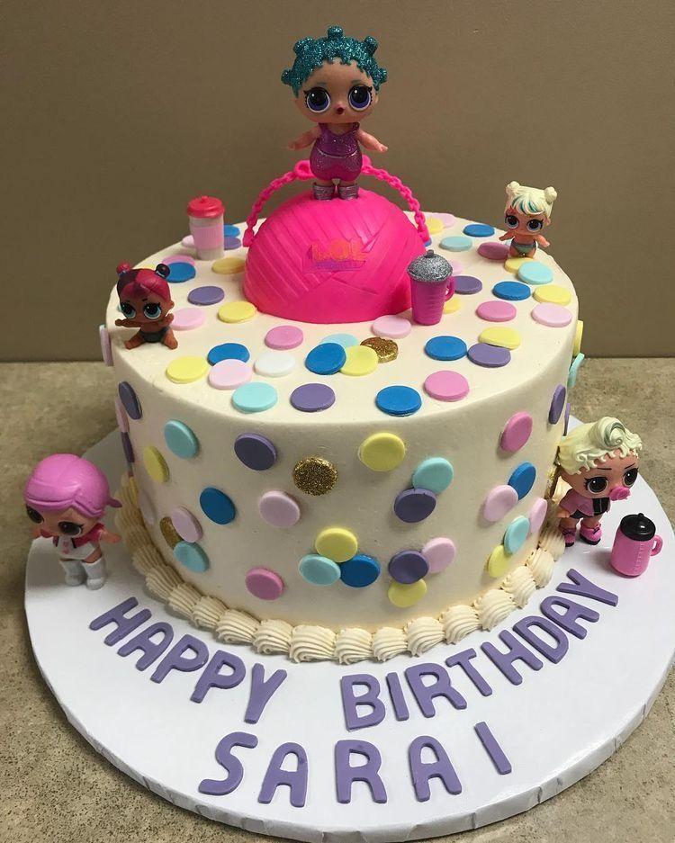 Lol Surprise Dolls Birthday Cake Cosmicqueen Audrey 4th Birthday