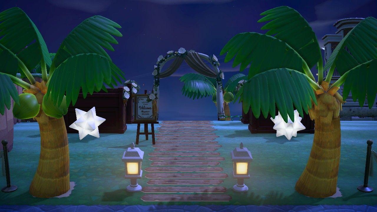 Acnh Secret Beach Wedding In 2020 Animal Crossing Secret Beach Beach Wedding