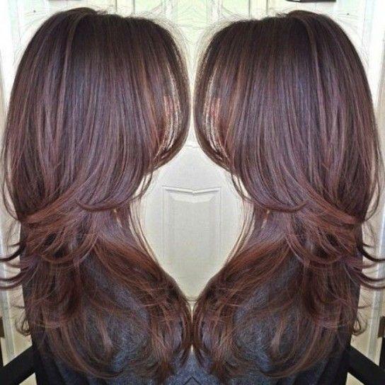 Tagli di capelli scalati dietro