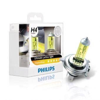 Philips หลอดไฟรถยนต์ - รุ่น WeatherVision +60% H7 คุณสมบัติของสินค้า - ยี่ห้อ Philips - WeatherVision +60%แสงสีเหลืองเข้ม สว่างกว่าเดิม 60%ขับขี่ได้ทุกสภาพถนน - Automotive & Gadgets