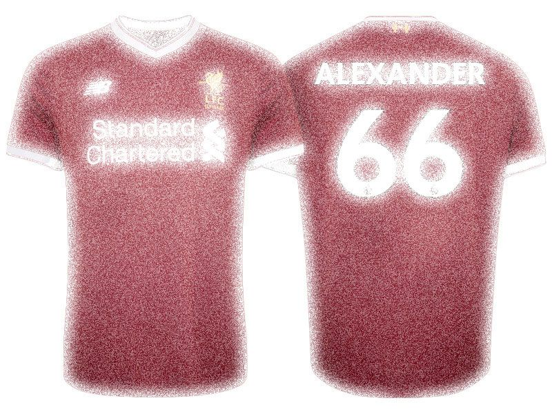 reputable site 2be41 46aad Liverpool 17-18 Jersey Kit trent alexander arnold Home Shirt ...