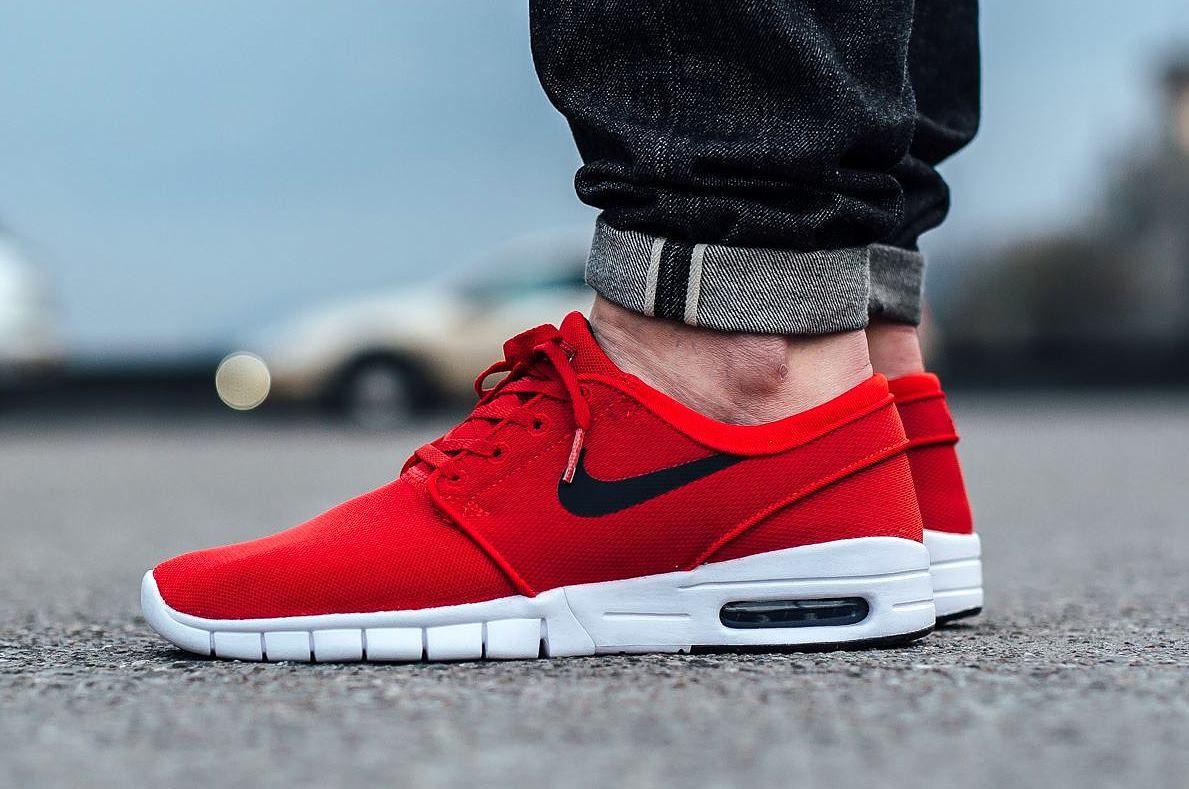 Nike SB Janoski Max Uni Red http://www.popname.cz/
